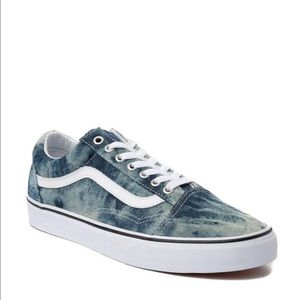 Unisex Vans Old Skool Skate Shoe - Acid Denim HP